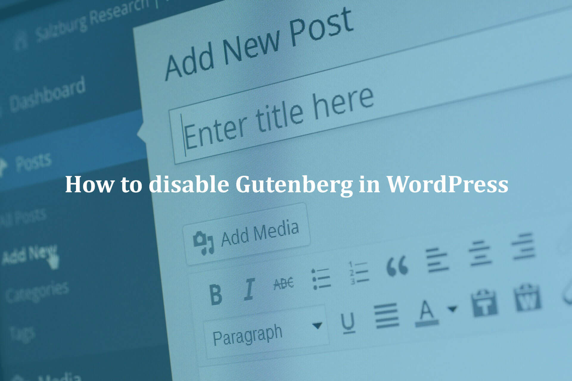 How-to-disable-Gutenberg-in-WordPress